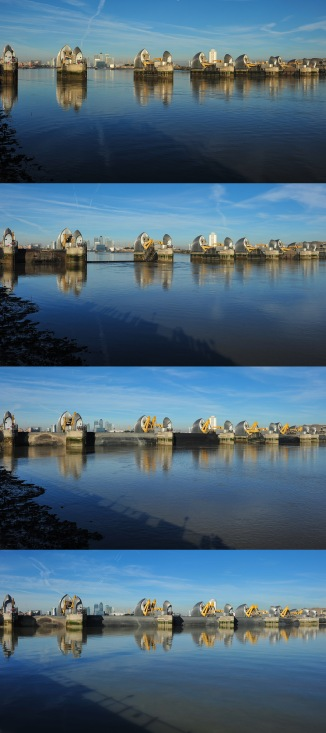 Thames Barrier Time Lapse